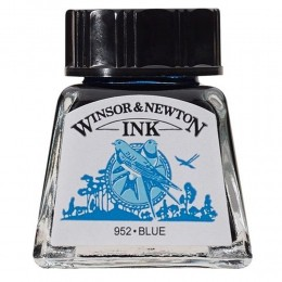 Tinta para Desenho W&N Azul 14ml (1005032)
