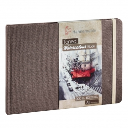 TONED WATERCOLOUR BOOK BEGE 200g A5 30f 10625171