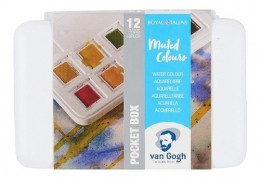 Van Gogh Pocket Box Estojo 12c Shades of Nature