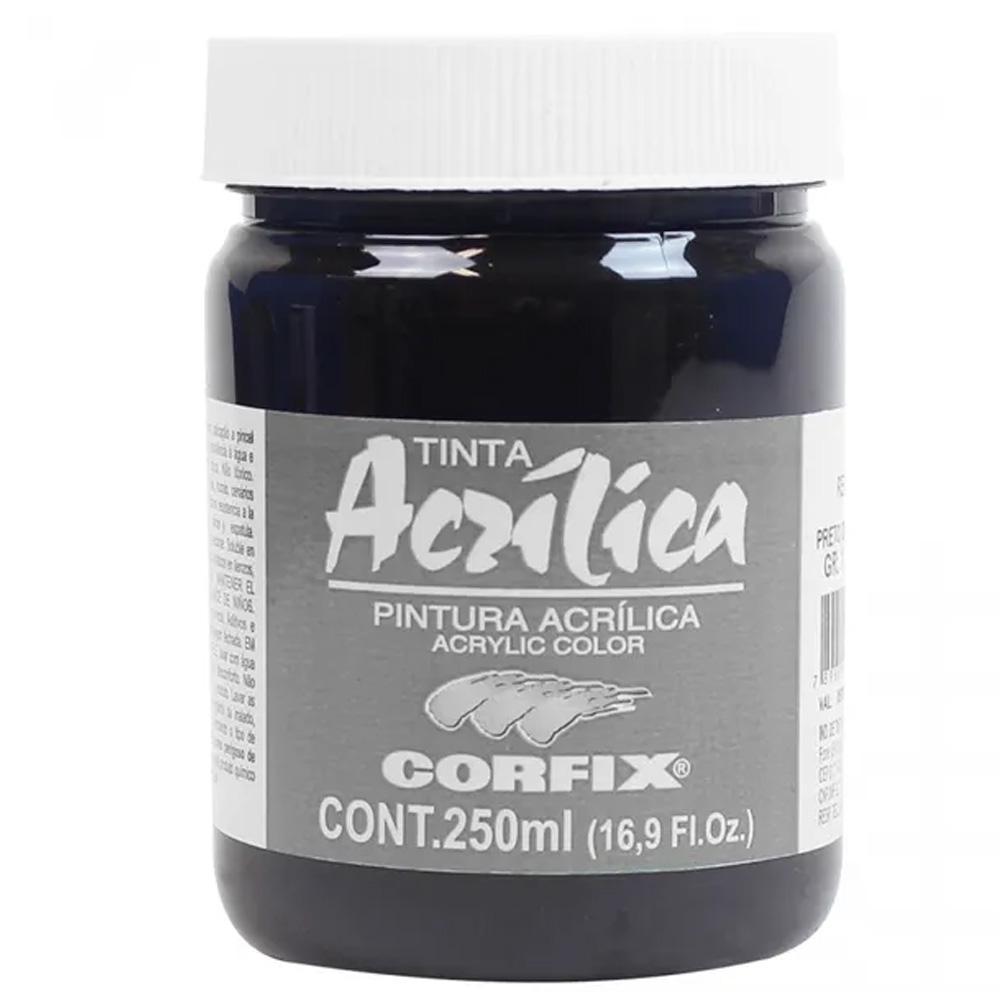 ACRILICA ARTS BRIL 250ML GR 1 121 PRETO DE MARFIM