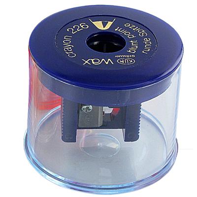Apontador para Giz 12mm com Reservatório 226WAX Az
