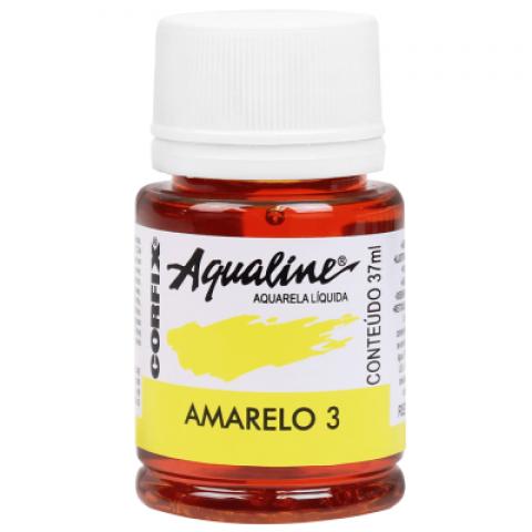 AQUALINE AQUARELA  LIQ. AMARELO 3 (37 ML) UN
