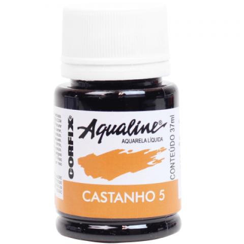 AQUALINE AQUARELA  LIQ. CASTANHO 5 (37 ML) UN