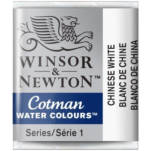 Aquarela Cotman W&N Chinese White Half Pan 150