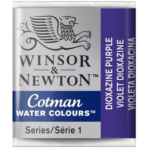 Aquarela Cotman W&N Dioxazine Violet Half Pan 231