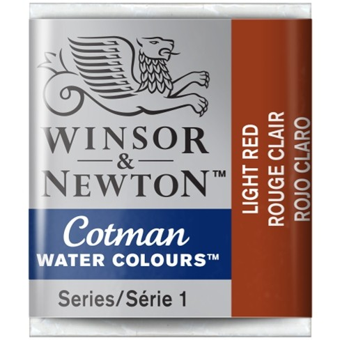 Aquarela Cotman W&N Light Red Half Pan 362