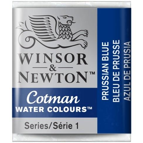 Aquarela Cotman W&N Prussian Blue Half Pan 538