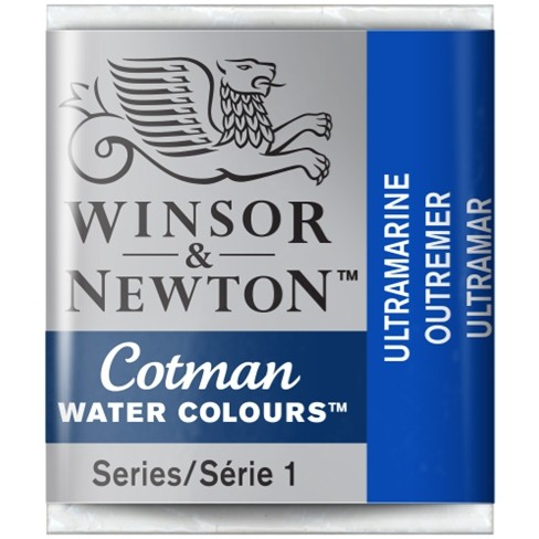 Aquarela Cotman W&N Ultramarine Half Pan 660