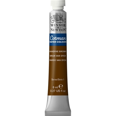Aquarela Cotman W&N Vandyke Brown Tubo 8ml 676