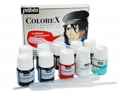 Aquarela Líquida Colorex Design Pebeo 13pcs 320299