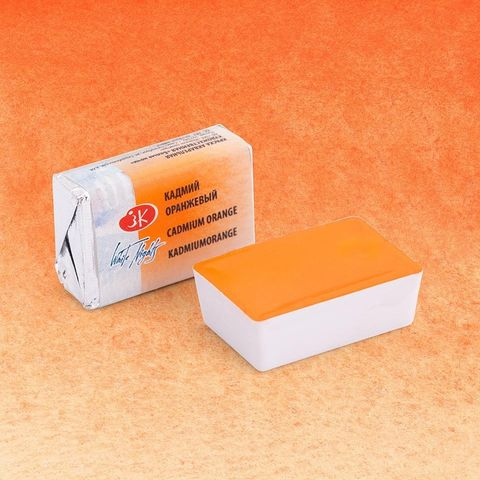 Aquarela White N Pastilha Cadmium Orange 304