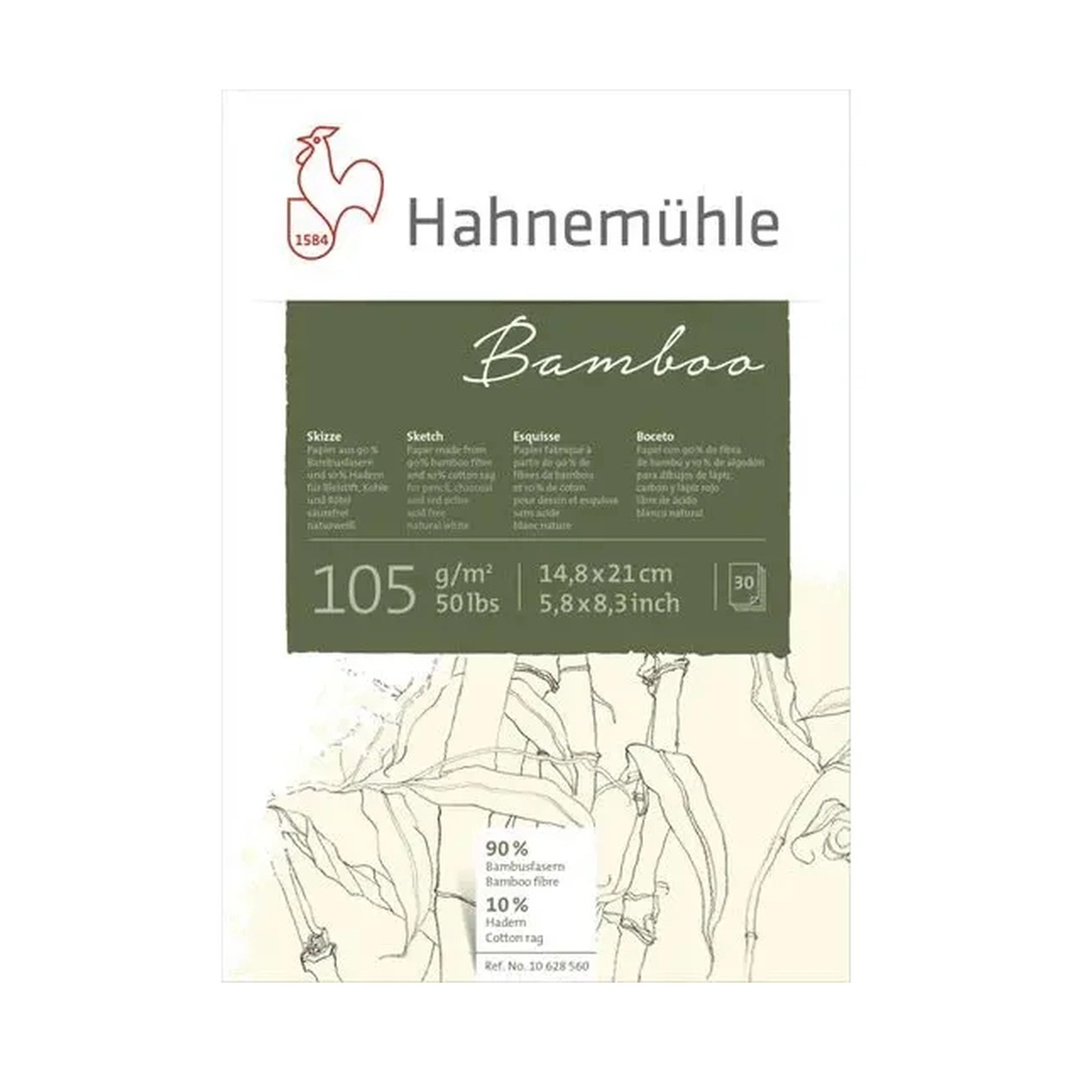 Bamboo Sketch 105g A5 30f 10628560