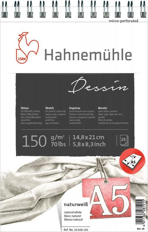 BLOCO DESENHO DESSIN SKETCH PAD 150g A5 10628191