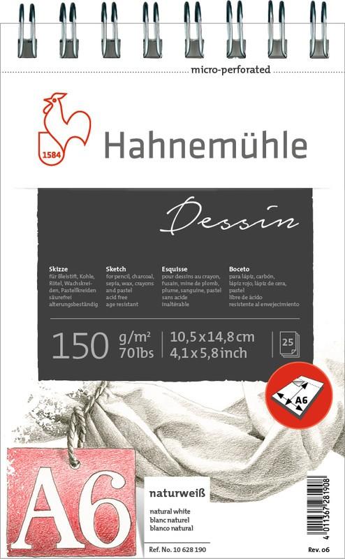 BLOCO DESENHO DESSIN SKETCH PAD 150g A6 10628190