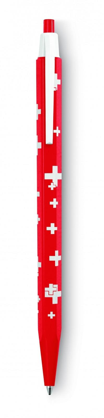 CANETA ESFEROGRAFICA 825.253 ECO SWISS FLAG