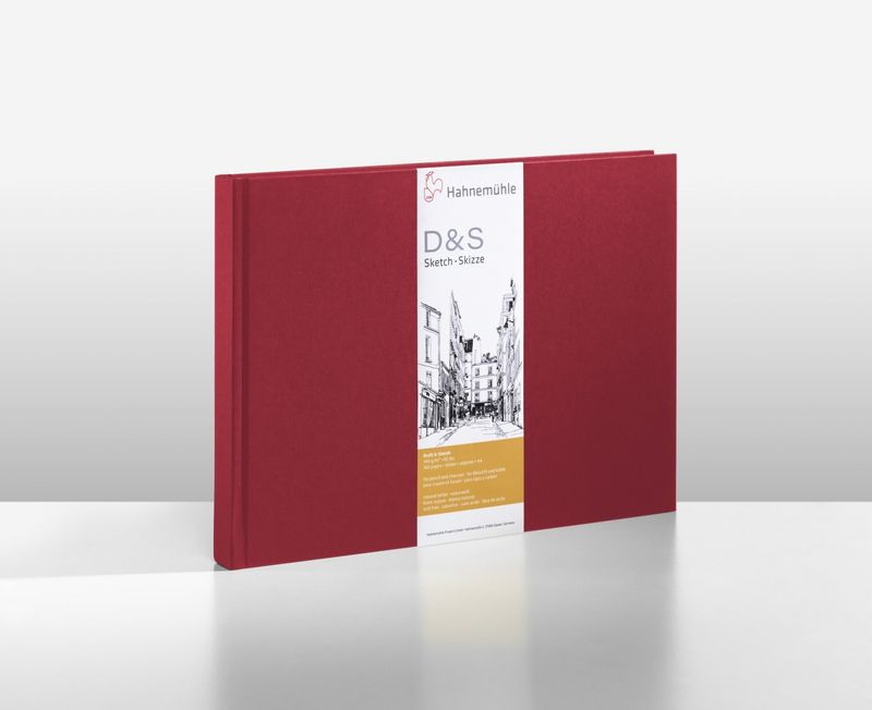 D&S SKETCH BOOK 140g CP VM A4 PAISAGEM 10628297
