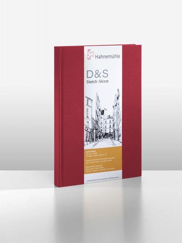 D&S SKETCH BOOK 140g CP VM TAM A4 RETRATO 10628294