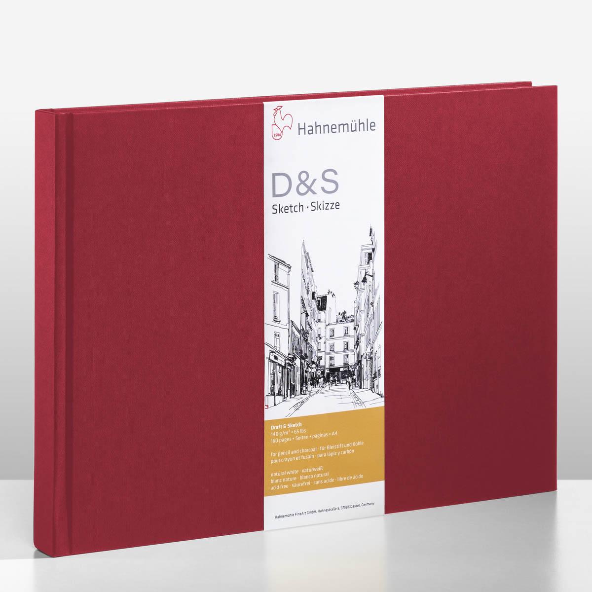 D&S SKETCH BOOK 140g CP VM A4 PAISAGEM 10628297