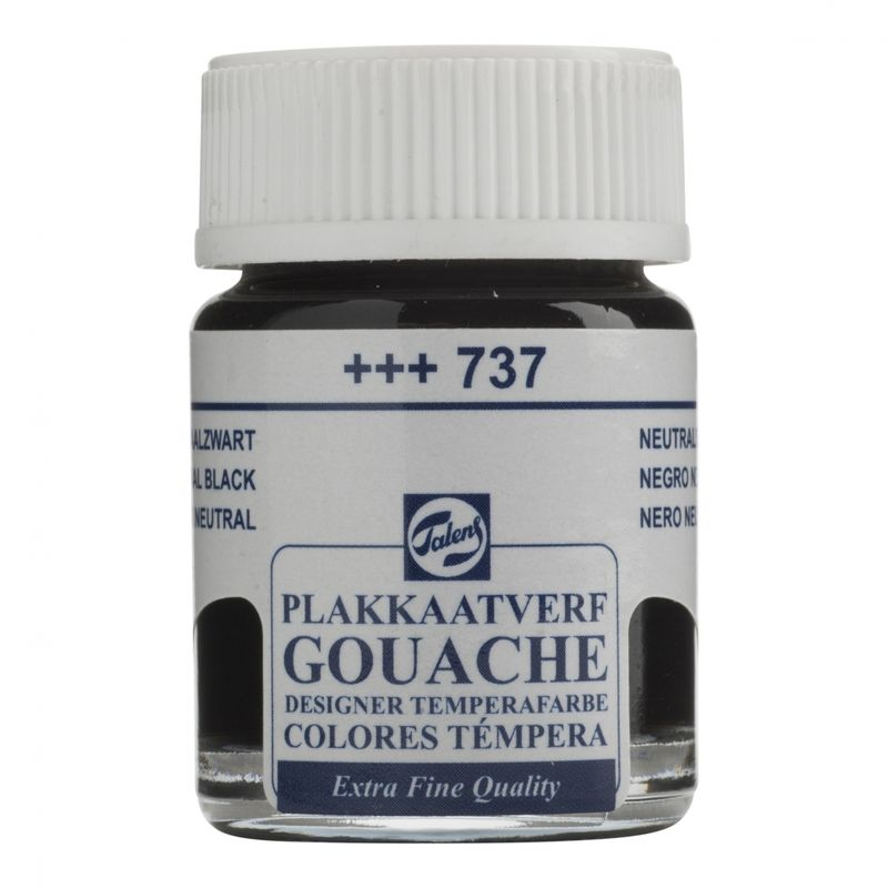 Gouache T Neutral Black (+++737)
