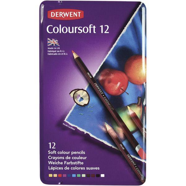 Lapis 12 Cores Linhas Coloursoft