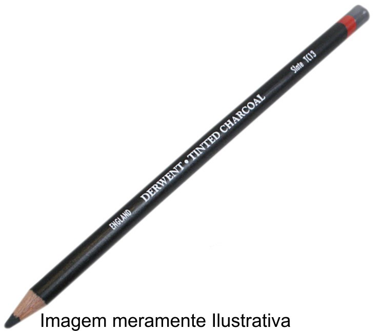 Lápis Carvão Vegetal Colorido Burnt Orange (TC02)