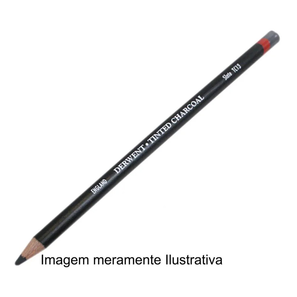 Lápis Carvão Vegetal Colorido Natural (TC20) un.