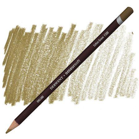 Lápis Coloursoft Derwent Lichen Green (C500) un.