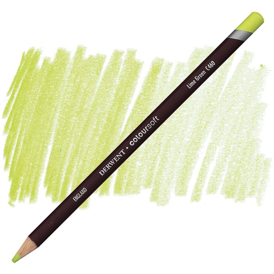 Lápis Coloursoft Derwent Lime Green (C460) un.