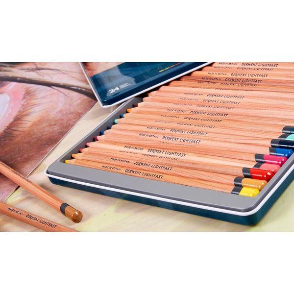 Lápis de Cor Permanente Lightfast 36c Estojo Lata