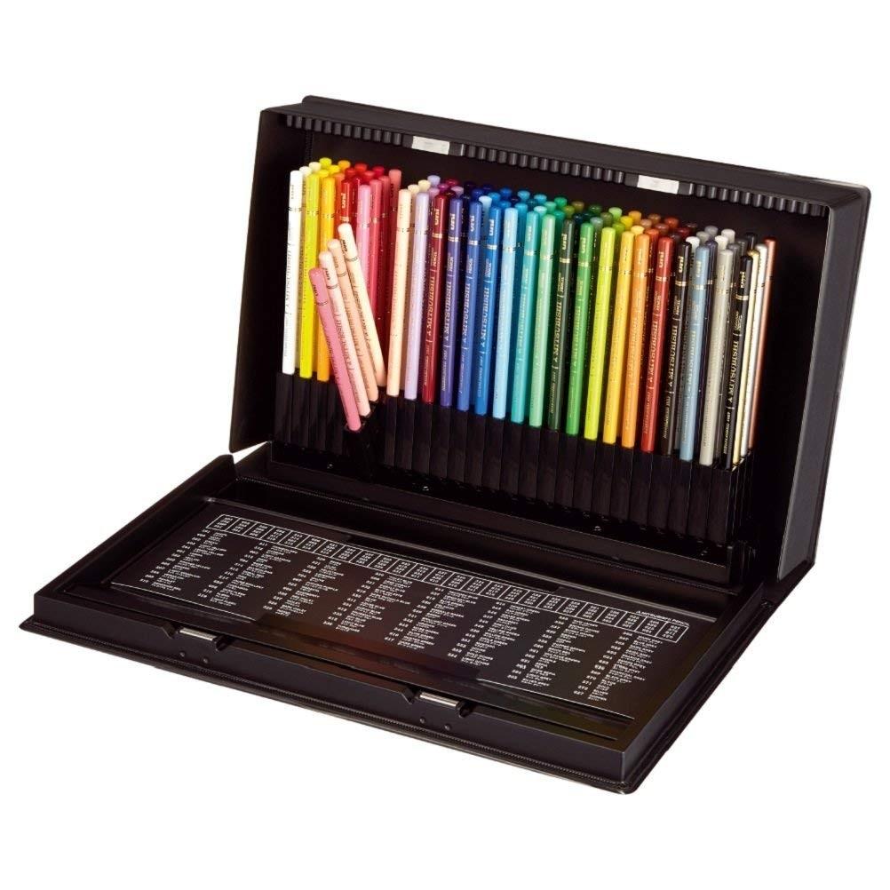 Lápis de cor Uniball Estojo c/100 cores