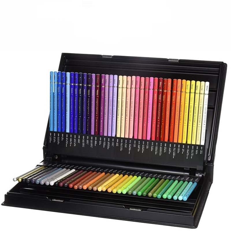 Lápis de Cor Uniball Estojo C/72 cores