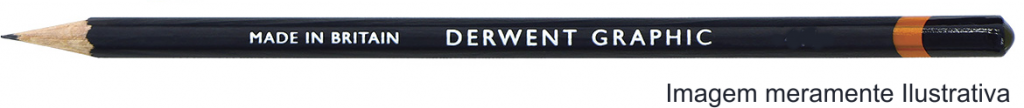 Lápis Graphic Derwent Graduado 4B un.