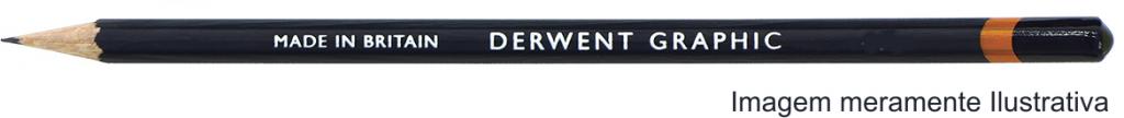 Lápis Graphic Derwent Graduado 4H un.