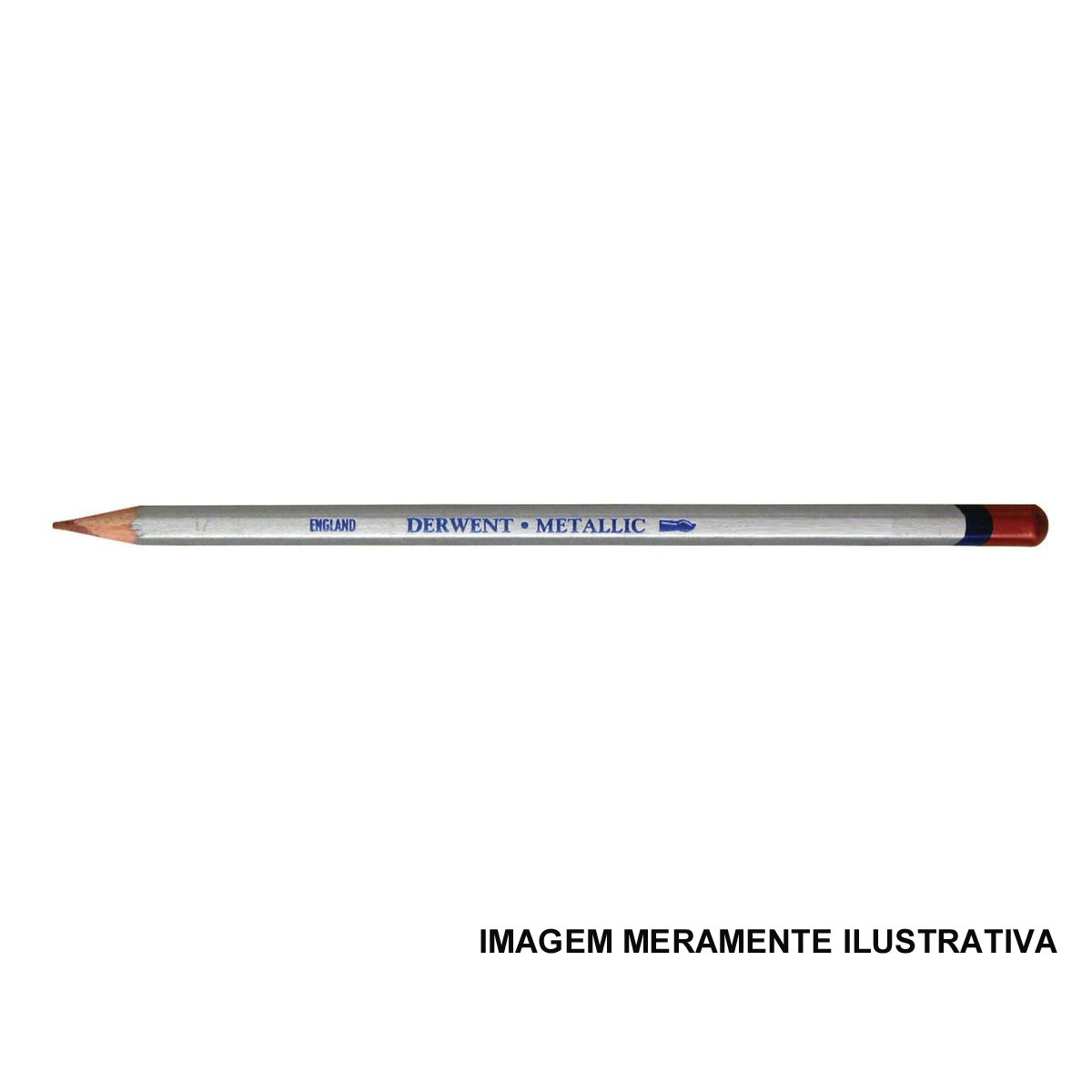 Lápis Metallic Silver (nº 01) un.