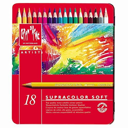Lapis Supracolor Soft 18 cores Carandache