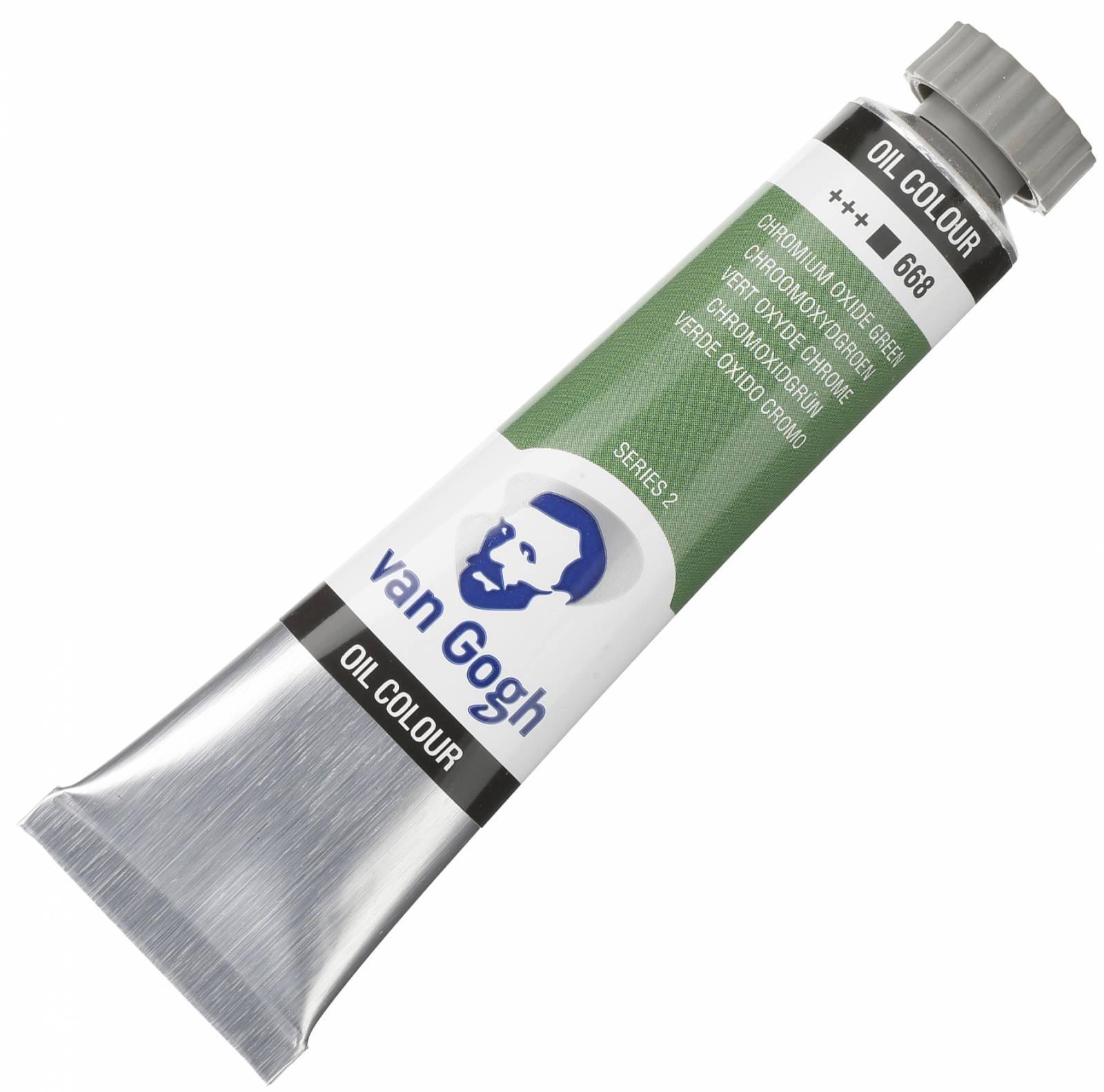 Oleo Van G. Chromium Ox.Green +++668 - s2 tb 20ml