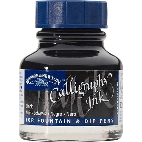 Tinta para Caligrafia W&N Black 30ml (1111030)