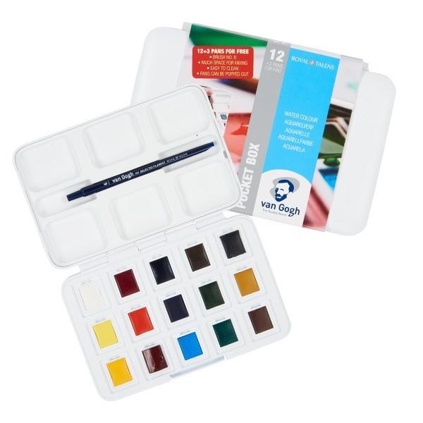 Van Gogh Pocket Box Estojo 12 + 3 cores