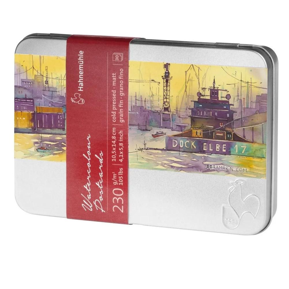Watercolour Postcards 230g Txt.Fina 30f 10650150