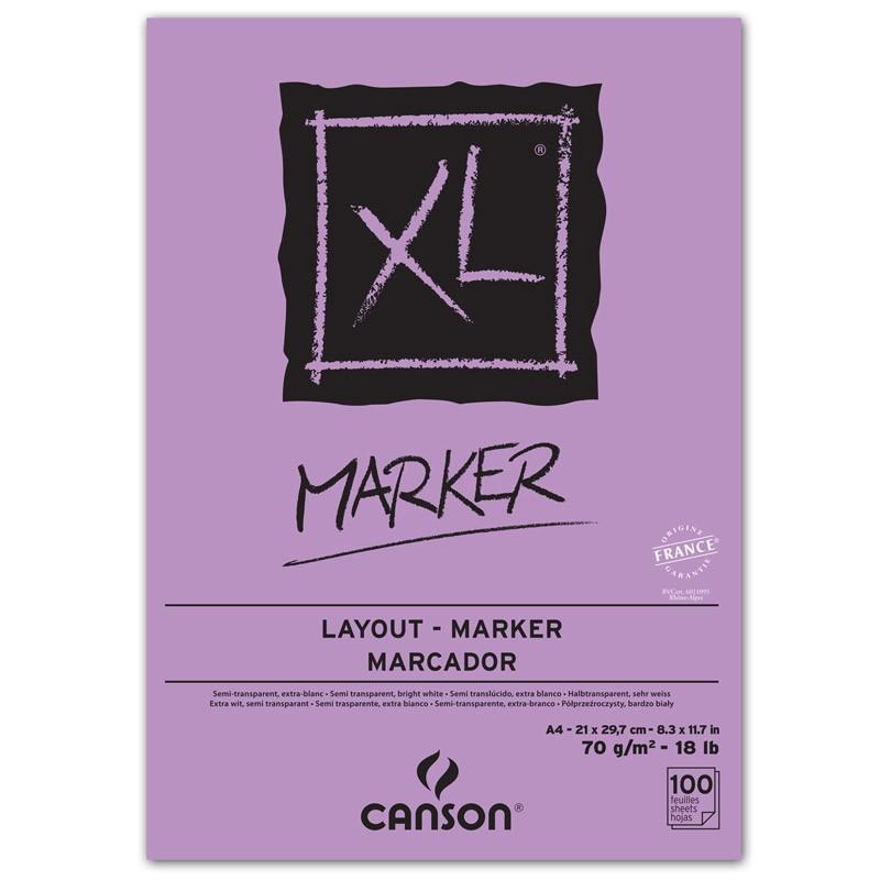 XL MARKER 100FLS A4 70G