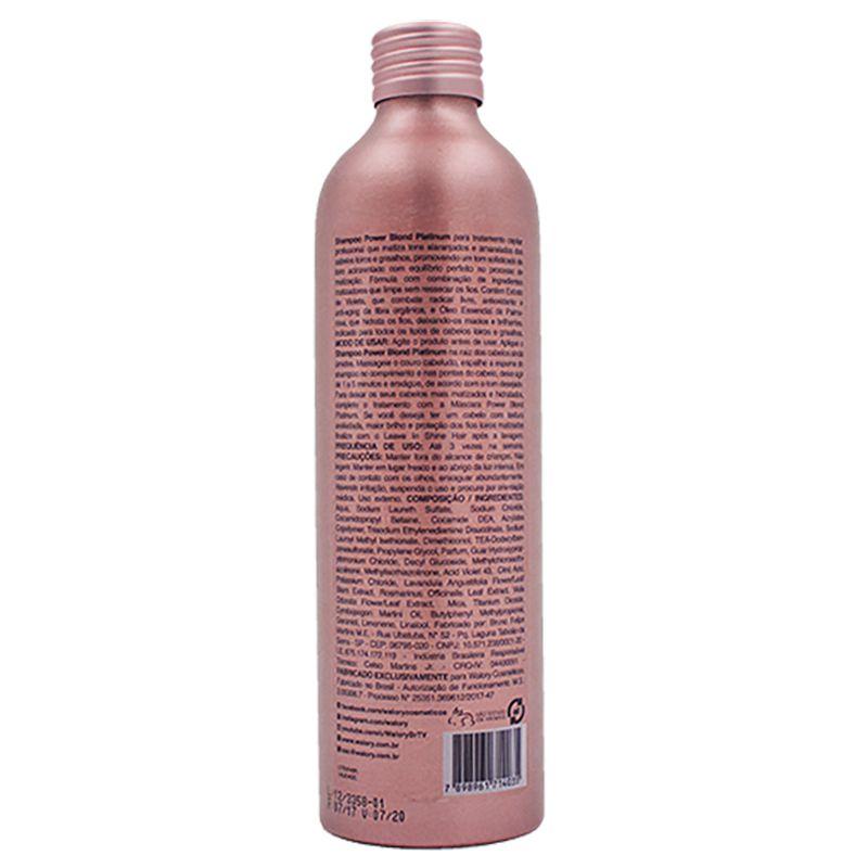 Shampoo Walory Professional Power Blond Platinum 240ml