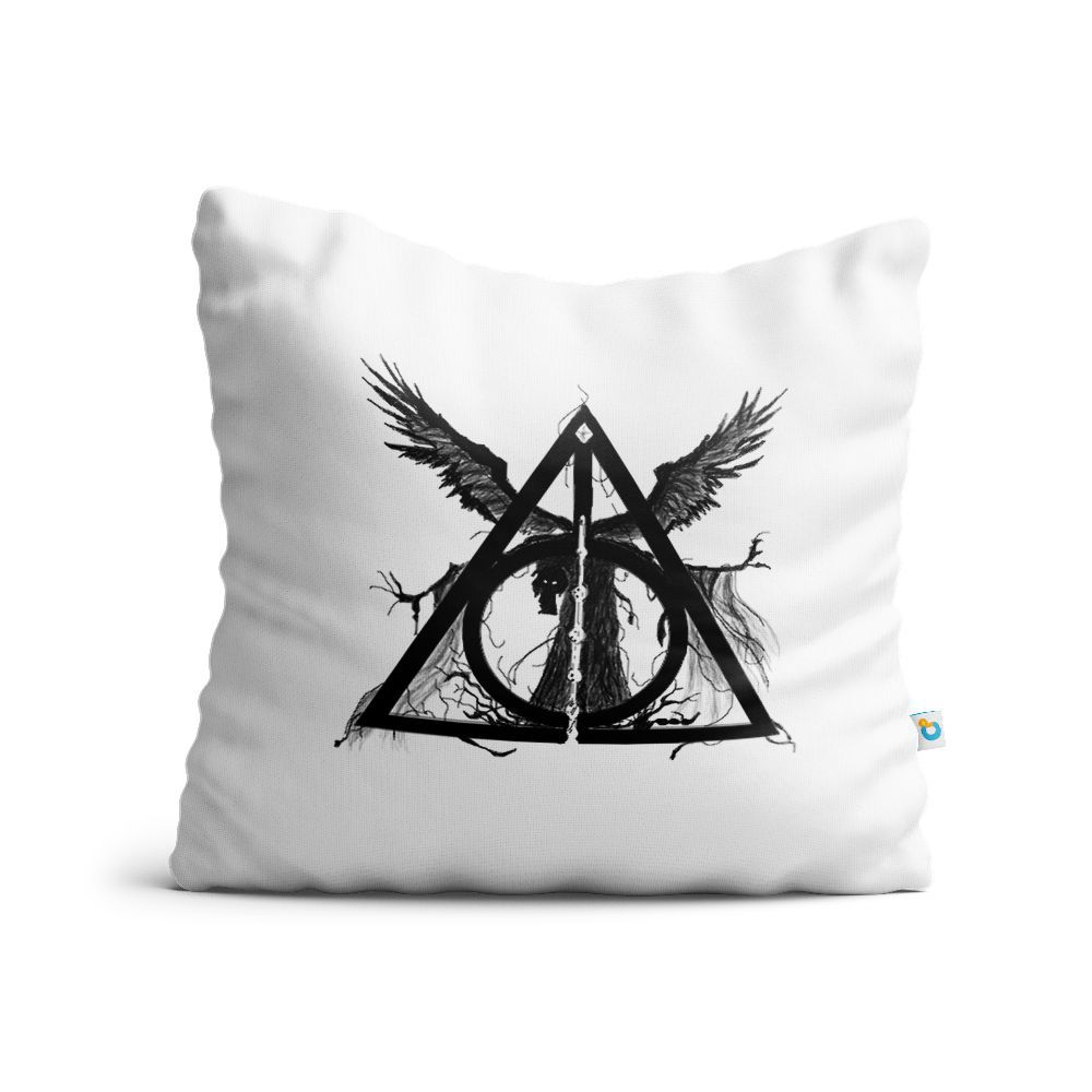 Almofada Harry Potter Relíquias Da Morte