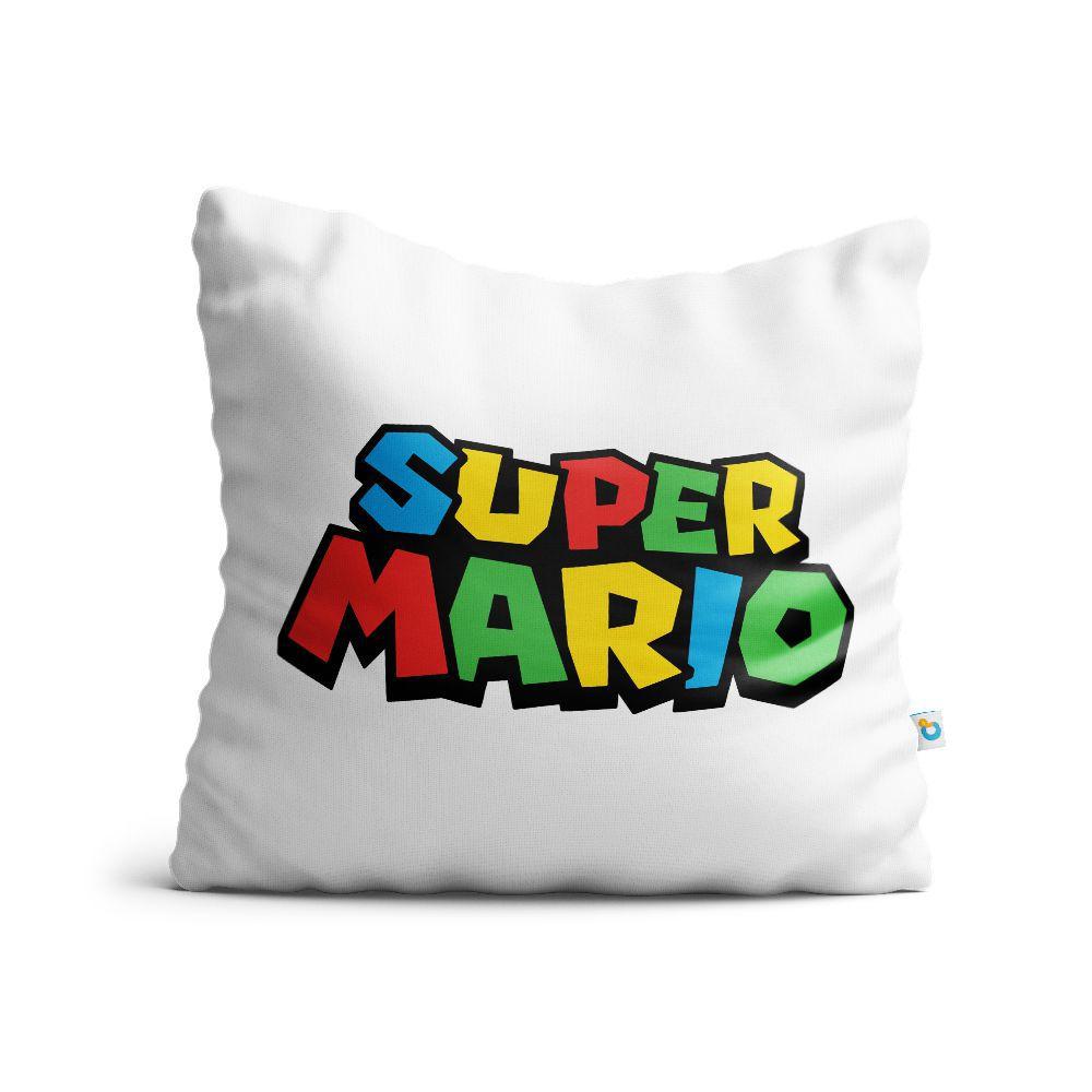 Almofada Mario Logo