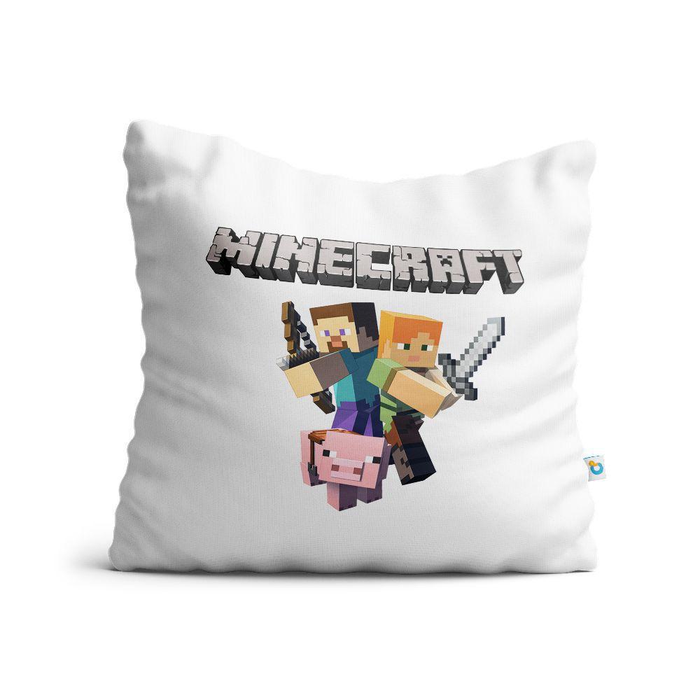 Almofada Minecraft Personagens