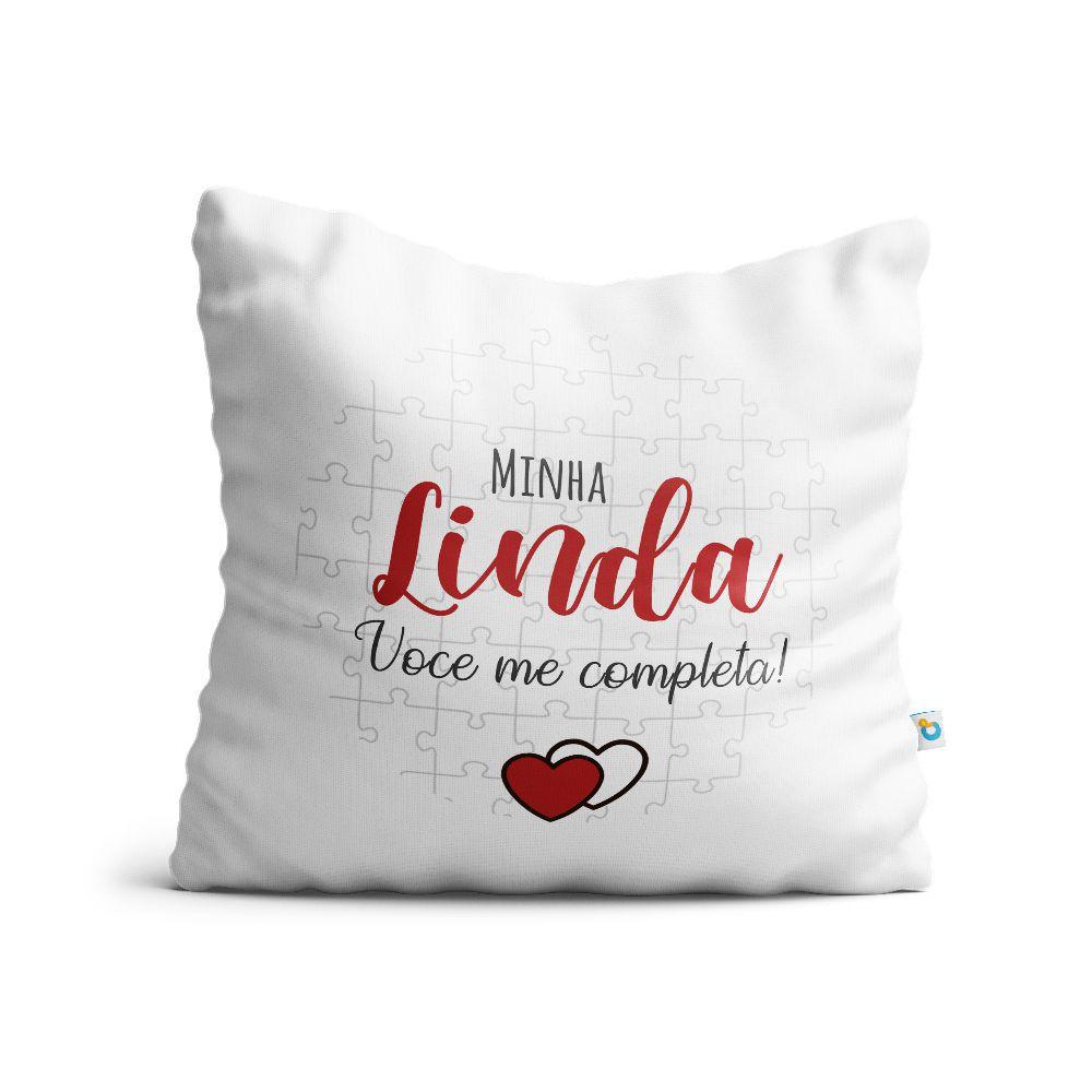 Almofada Dia dos Namorados Minha Linda