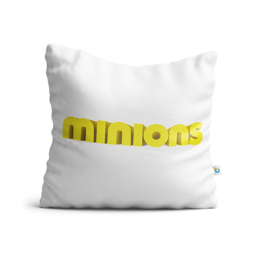 Almofada Minions Logo