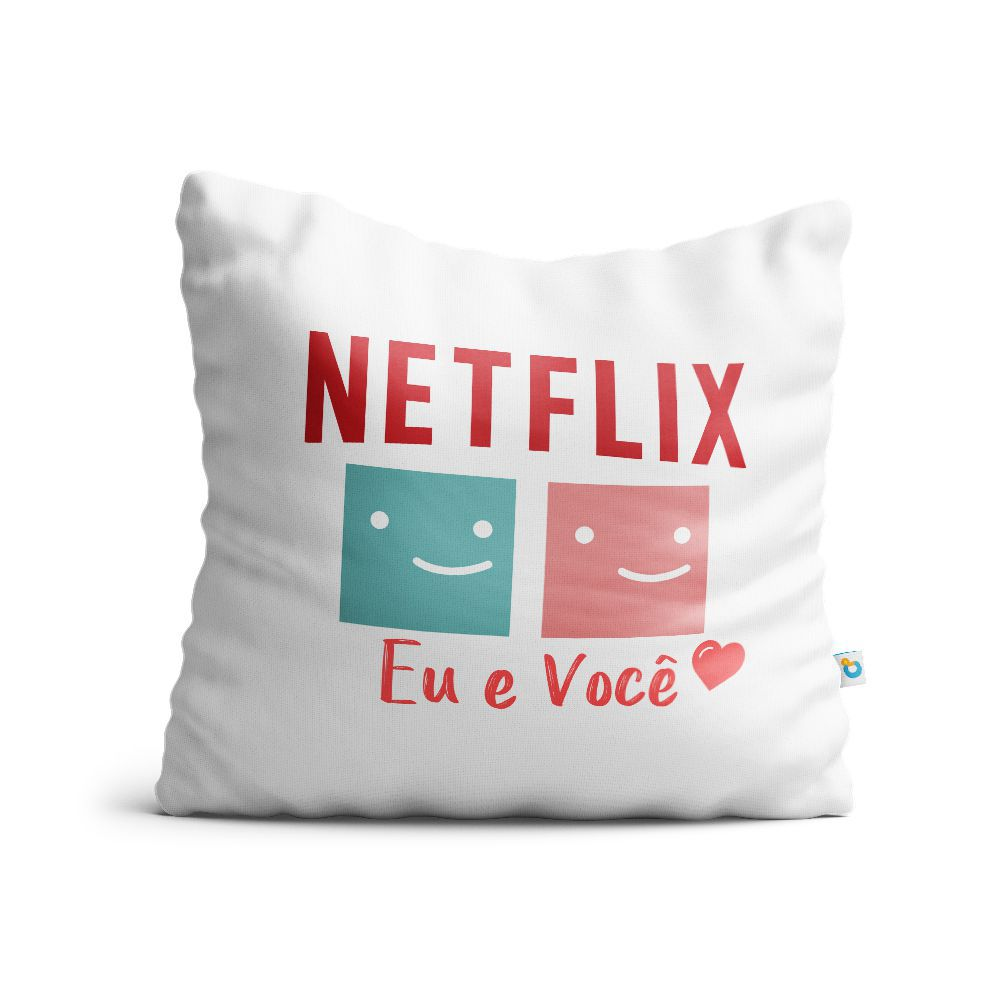 Almofada Dia dos Namorados Netflix