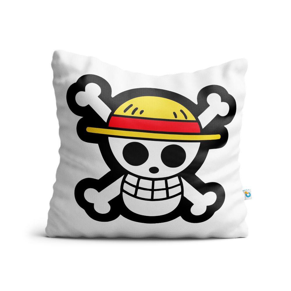 Almofada One Piece Chapéu De Palha