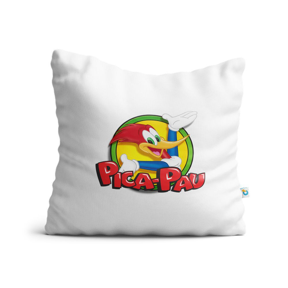 Almofada Pica-Pau Logo