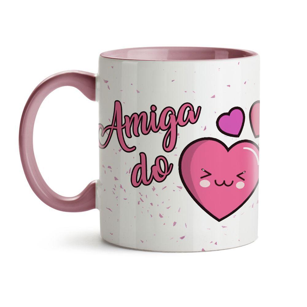 Caneca Amizade  - Amiga Do Coração!